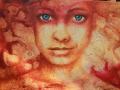 rood oker bruin bleu eyes