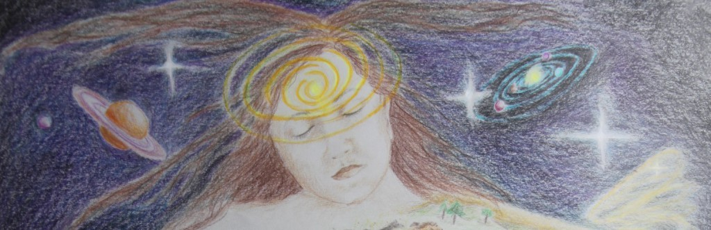 heelbeeld, kosmisch Deel Hoger bewustzijn